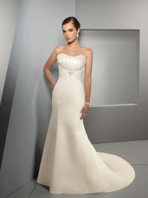 Fit and Flare dress by Mori Lee