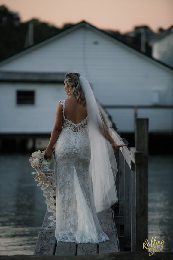 Peter Trends – Size 10 Fishtail dress | Second hand wedding dresses South Perth - Size 10