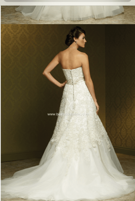Mia Solano – Size 18 A-Line dress | Second hand wedding dresses Carrum Downs - 9