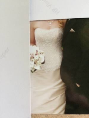 Maggie Sottero – Size 6 Fit and Flare dress | Second hand wedding dresses Kilsyth - 4