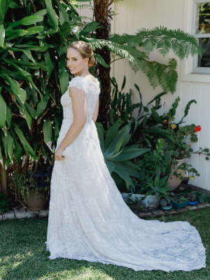 Angela Marcuccio – Size 10 A-Line dress | Second hand wedding dresses Neutral Bay - 5