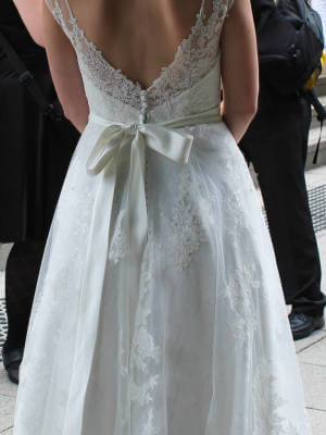 The Sposa Group – Size 8 Fit and Flare dress | Second hand wedding dresses Penrith - 2