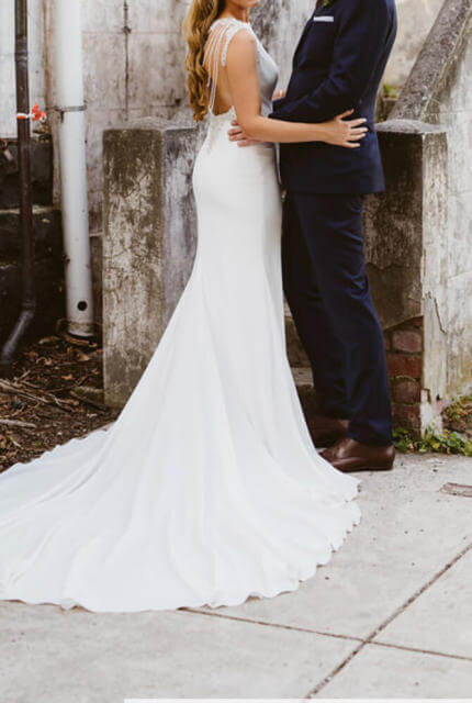 Pronovias – Size 10 A-Line dress | Second hand wedding dresses Clifton Hill - 6