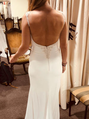 Pronovias – Size 10 A-Line dress | Second hand wedding dresses Clifton Hill - 7