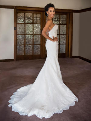 Fit and Flare dress by Pronovias