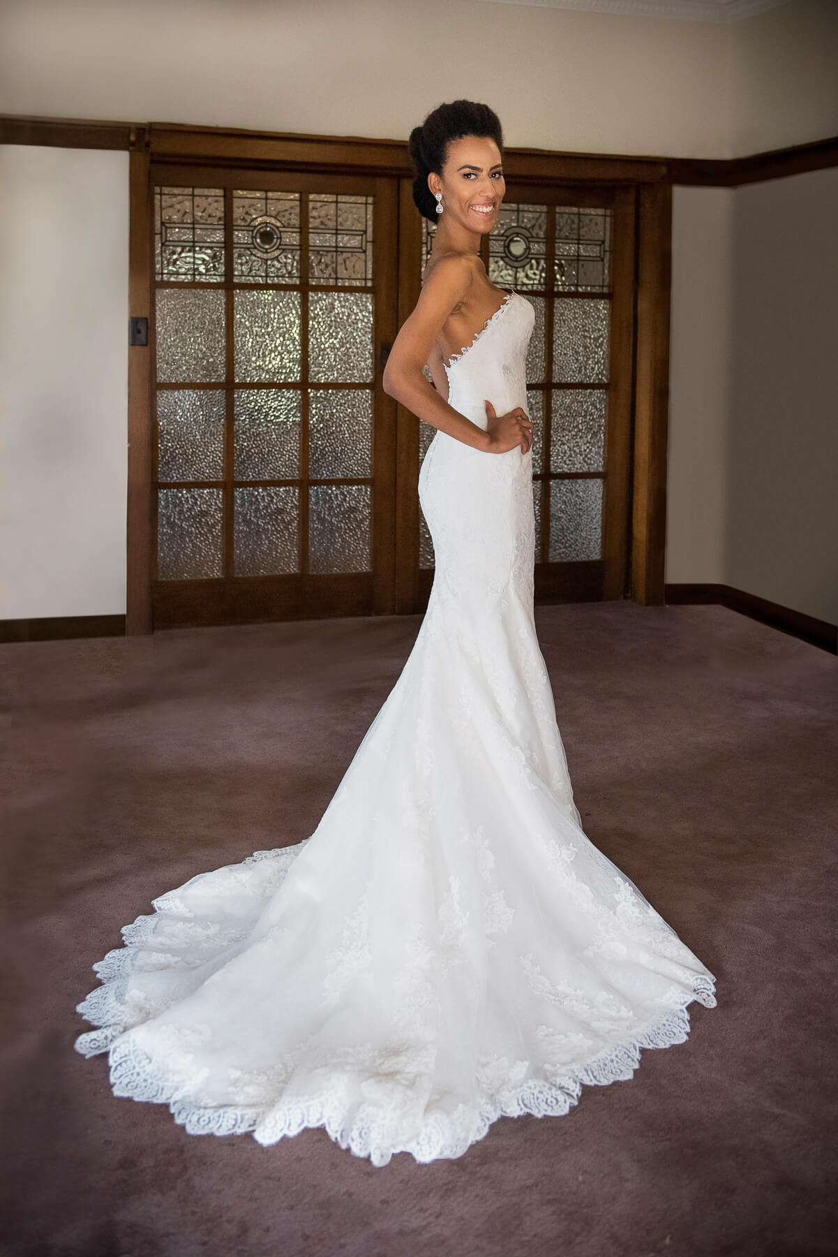 Pronovias – Size 8 Fishtail dress | Second hand wedding dresses Woy Woy - Size 8