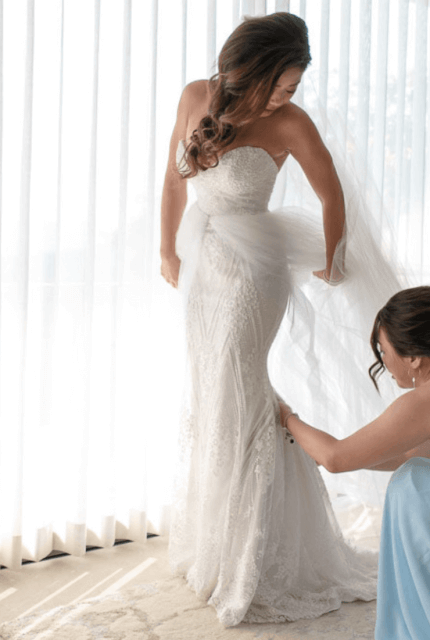 Tara Keely – Size 10 Trumpet dress | Second hand wedding dresses melbourne - Size 8