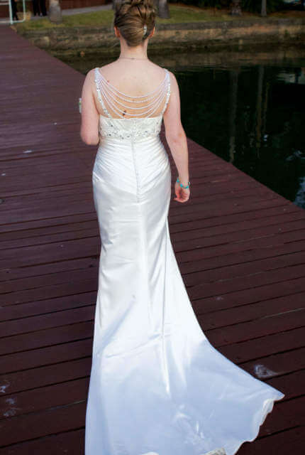 Ronald Joyce – Size 8 Vintage dress | Second hand wedding dresses Epping - 3