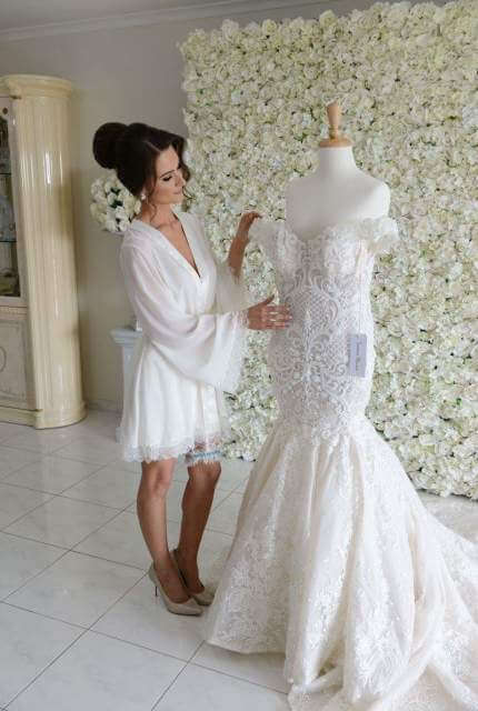 Suzanna Blazevic – Size 6 Fit and Flare dress | Second hand wedding dresses Woolooware Bay - 6