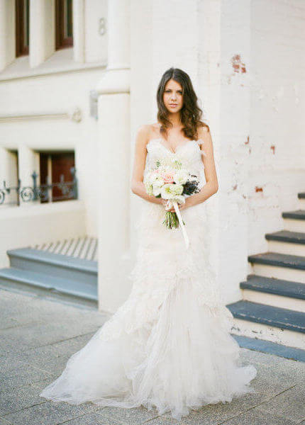 Pallas Couture – Size 8 Fit and Flare dress   Second hand wedding dresses Beaumont Hills - Size 8