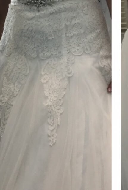 Brides By Design – Size 14 A-Line dress | Second hand wedding dresses Margate - 4