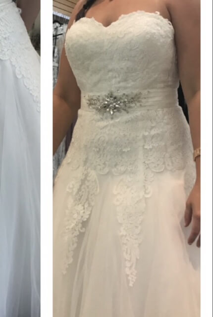Brides By Design – Size 14 A-Line dress | Second hand wedding dresses Margate - 7