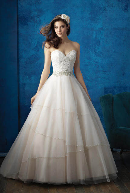 Allure Bridals – Size 12 Ball Gown dress | Second hand wedding dresses PROSPECT VALE - Size 12