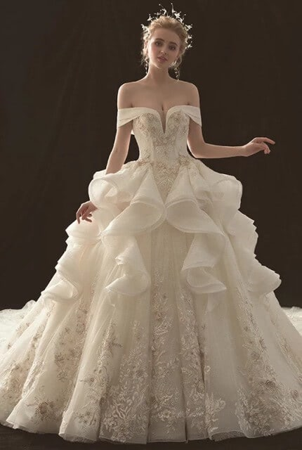Bespoke / Other – Size 10 Ball Gown dress | Second hand wedding dresses Carlisle - Size 10
