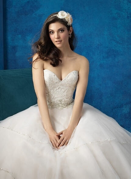 Allure Bridals – Size 12 Ball Gown dress | Second hand wedding dresses PROSPECT VALE - 3