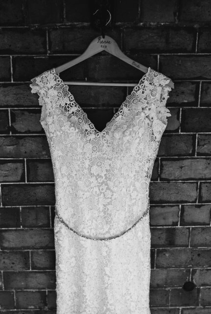 Allure Bridals – Size 8 Fishtail dress | Second hand wedding dresses stockton - 4