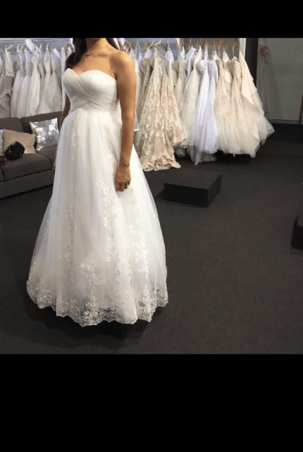 Bespoke / Other – Size 14 A-Line dress | Second hand wedding dresses Labrador - Size 14