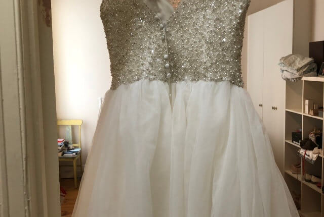 Allure Bridals – Size 16 Ball Gown dress | Second hand wedding dresses Clifton Hill - 2