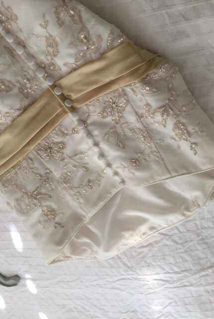 Alfred Angelo – Size 10 Fit and Flare dress | Second hand wedding dresses Scarborough - 5