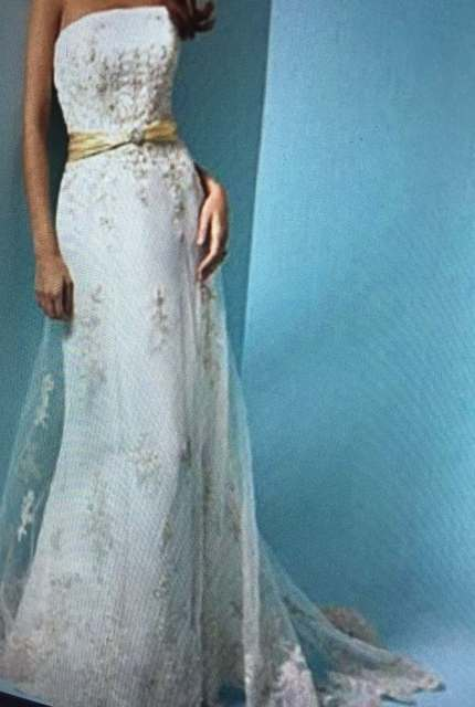 Alfred Angelo – Size 10 Fit and Flare dress | Second hand wedding dresses Scarborough - 9