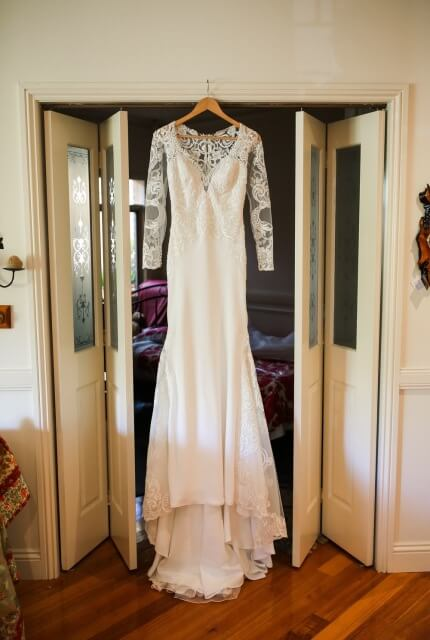 Raffaele Ciuca – Size 8 Fit and Flare dress | Second hand wedding dresses Croydon - 6