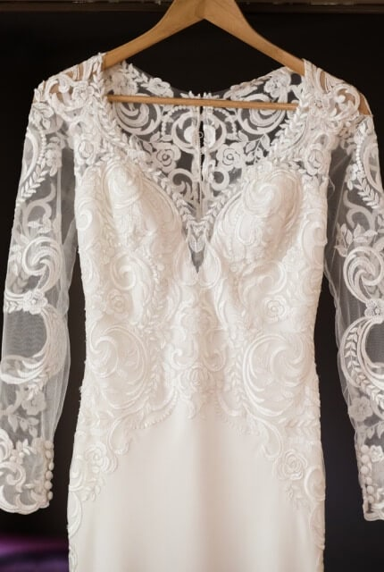 Raffaele Ciuca – Size 8 Fit and Flare dress | Second hand wedding dresses Croydon - 7