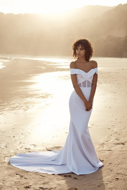 One Day Bridal – Size 6 Fit and Flare dress | Second hand wedding dresses Brighton - Size 6