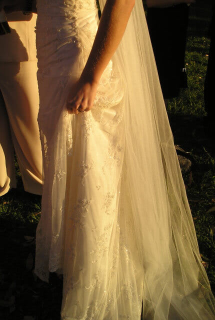 Bespoke / Other – Size 10 Vintage dress | Second hand wedding dresses Potts Point - 5