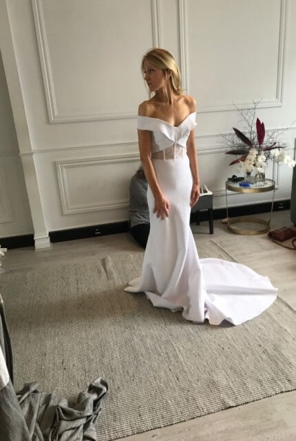 One Day Bridal – Size 6 Fit and Flare dress | Second hand wedding dresses Brighton - 4