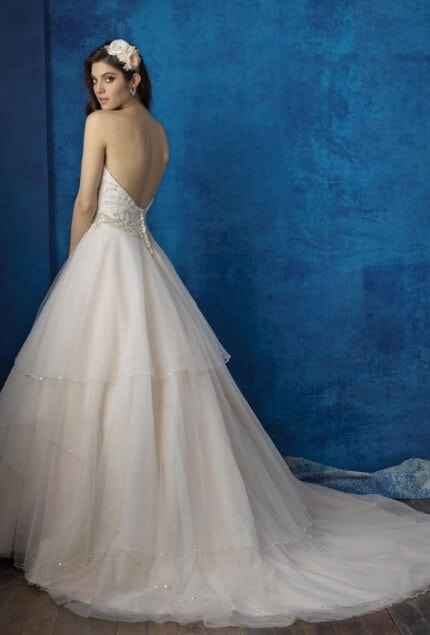 Allure Bridals – Size 12 Ball Gown dress | Second hand wedding dresses PROSPECT VALE - 2