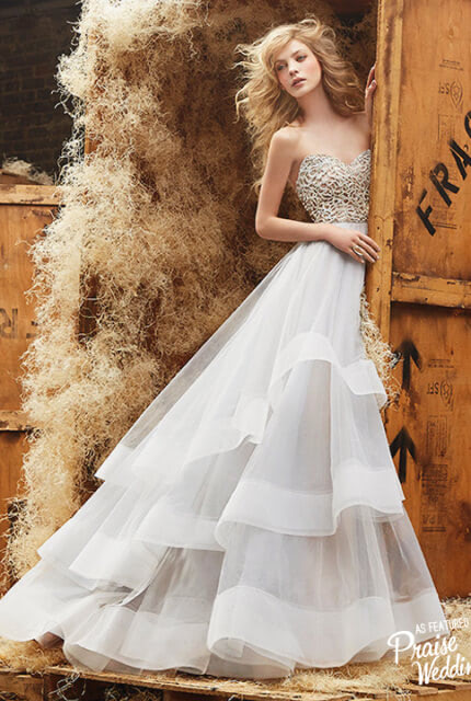 Hayley Paige – Size 8 Ball Gown dress | Second hand wedding dresses Lalor - Size 8