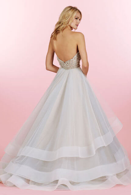 Hayley Paige – Size 8 Ball Gown dress | Second hand wedding dresses Lalor - 3