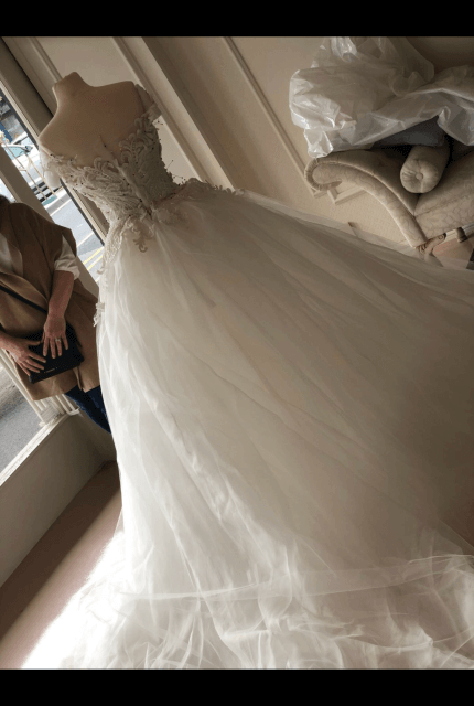 Annette of Melbourne – Size 6 A-Line dress | Second hand wedding dresses Lalor - 9