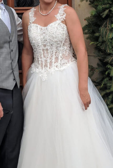 Bespoke / Other – Size 10 A-Line dress | Second hand wedding dresses Beverly Hills - 7