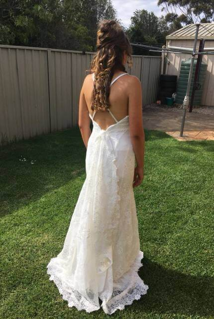 Valentine – Size 12 A-Line dress | Second hand wedding dresses Toowoomba - Size 12
