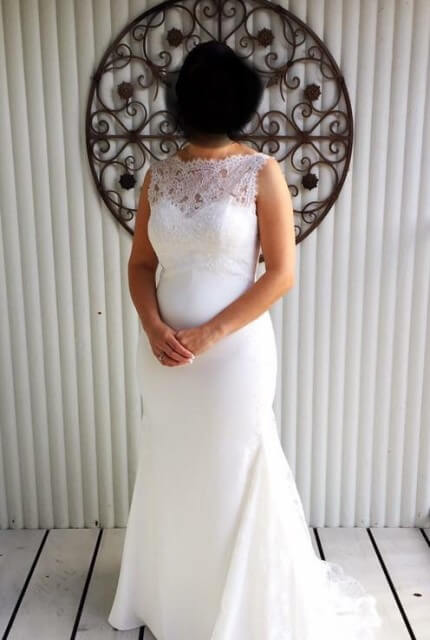 Pronovias – Size 14 Empire dress | Second hand wedding dresses Warwick - Size 14