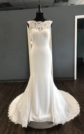 Pronovias – Size 14 Empire dress | Second hand wedding dresses Warwick - 2