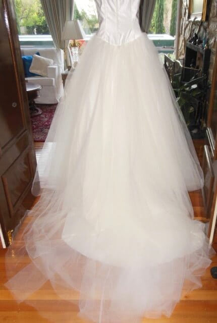 Bespoke / Other – Size 10 Ball Gown dress | Second hand wedding dresses Fullarton - 4