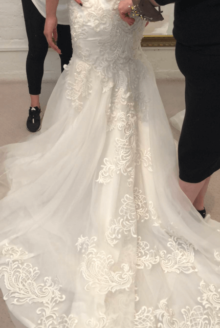 Annette of Melbourne – Size 6 A-Line dress | Second hand wedding dresses Lalor - 8