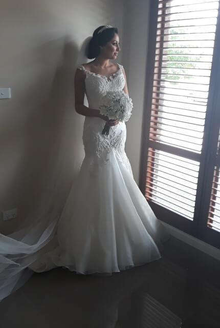 Annette of Melbourne – Size 6 A-Line dress | Second hand wedding dresses Lalor - 4