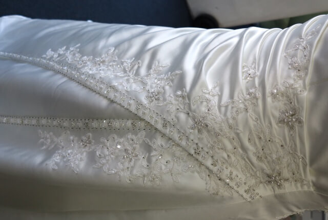 Mark Lesley – Size 18 Strapless dress | Second hand wedding dresses GLEN WAVERLEY - 3