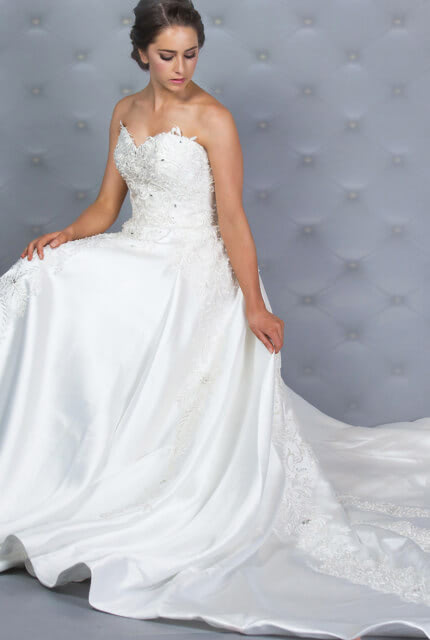 Bespoke / Other – Size 12 Ball Gown dress | Second hand wedding dresses Melbourne - 4
