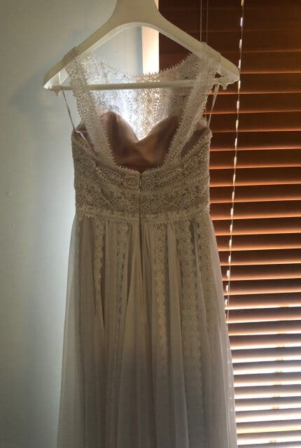 Pronovias – Size 10 A-Line dress | Second hand wedding dresses Bonbeach - 8