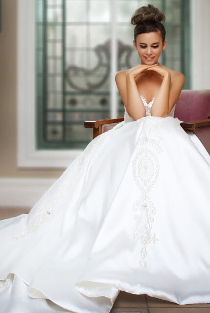 Bespoke / Other – Size 12 Ball Gown dress | Second hand wedding dresses Melbourne - Size 12