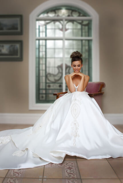 Bespoke / Other – Size 12 Ball Gown dress | Second hand wedding dresses Melbourne - 3