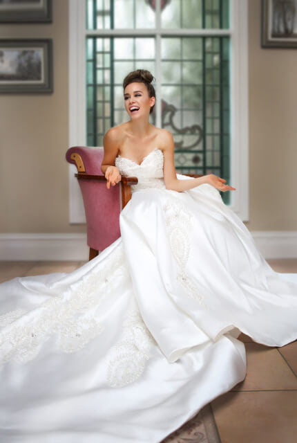 Bespoke / Other – Size 12 Ball Gown dress | Second hand wedding dresses Melbourne - 2