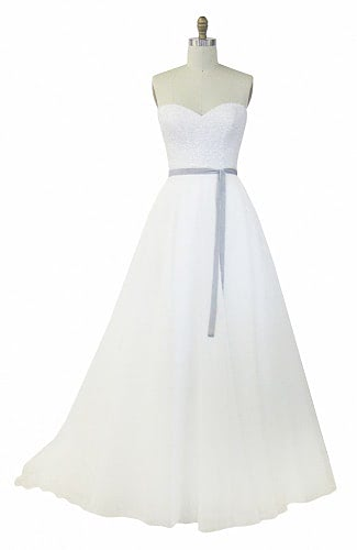 Karen Willis Holmes – Size 12 A-Line dress | Second hand wedding dresses Surfers Paradise - 2