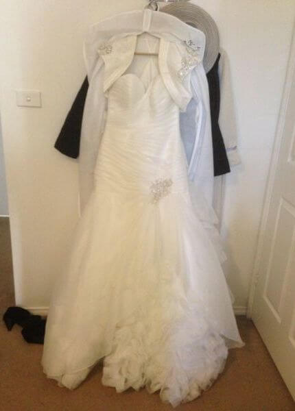 Bespoke / Other – Size 12 Fit and Flare dress | Second hand wedding dresses Holt - Size 12