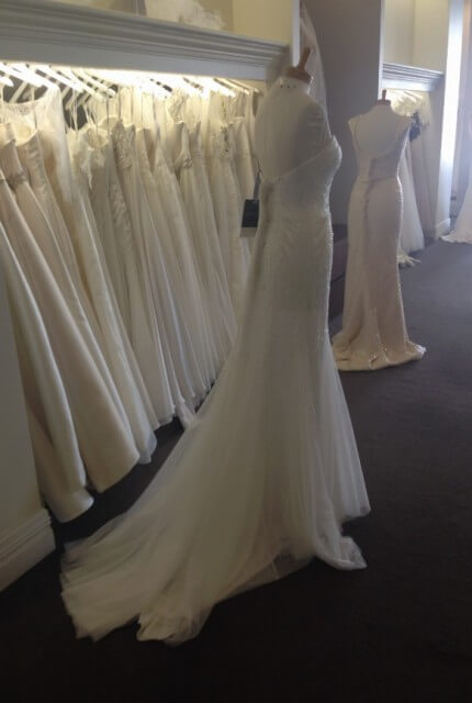 Aire Barcelona – Size 8 Strapless dress | Second hand wedding dresses DIANELLA - 4