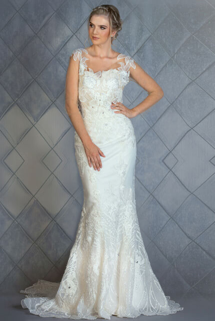 Bespoke / Other – Size 12 Sheath dress | Second hand wedding dresses Melbourne - 2